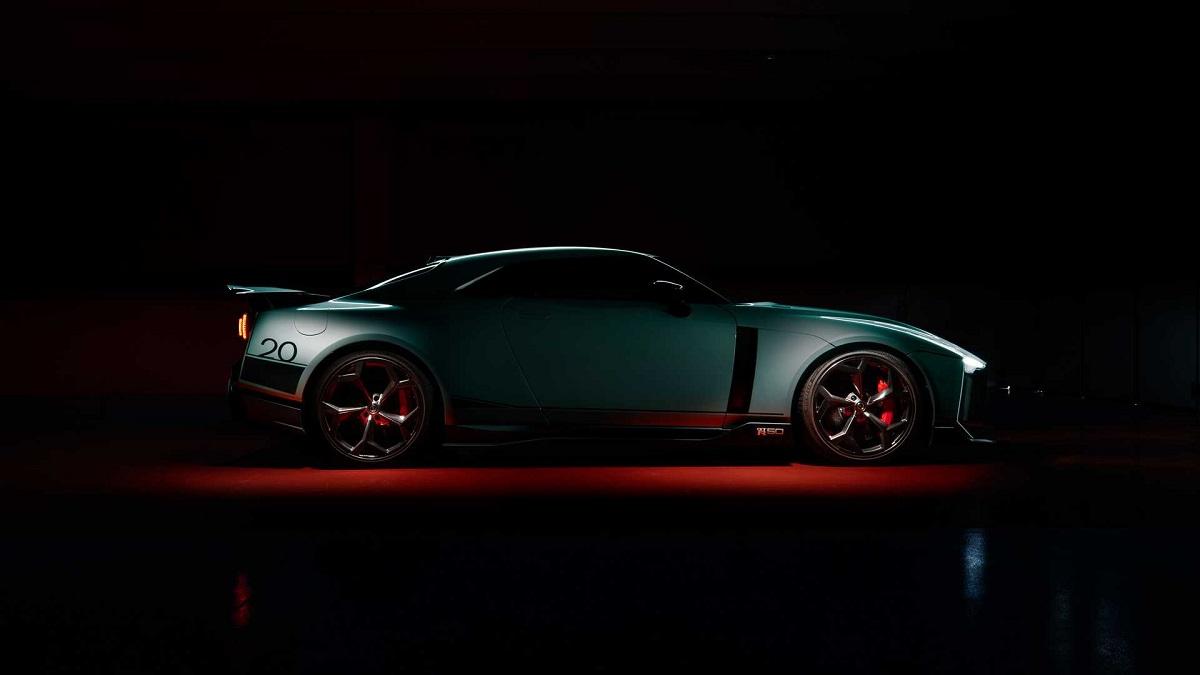 نیسان GT-R50 2020