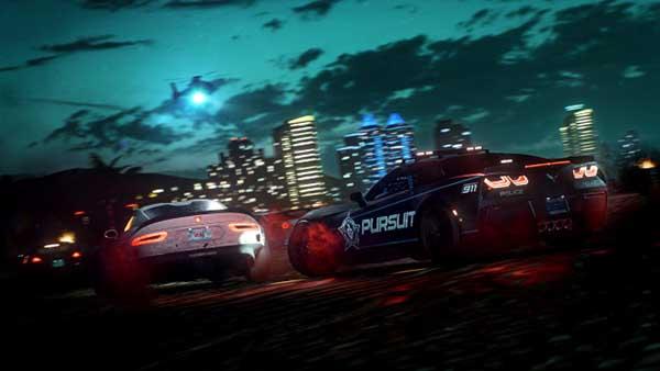 بازی جنون سرعت حرارت در سرویس EA Play