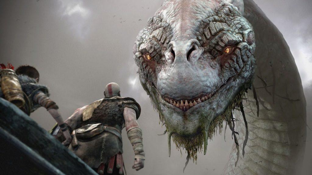 بازی God of War برای پلی استیشن 4