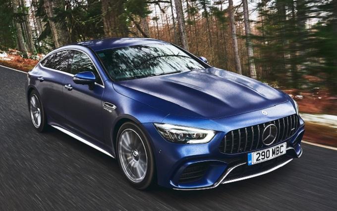 تغییرات مرسدس بنز AMG GT سدان در مدل آینده
