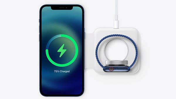 شارژ همزمان با شارژر MagSafe Duo اپل