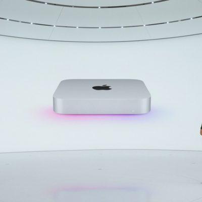 اپل مک مینی جدید با پردازنده M1 معرفی شد