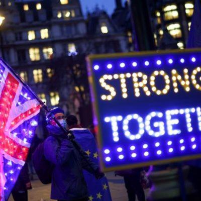 بریتانیا و اتحادیه اروپا در توافق جدید برگزیت