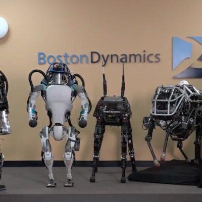 نسل بعدی رباتهای توسعه یافته توسط بوستون داینامیکس