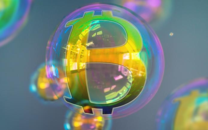 بیت کوین در حباب عظیم