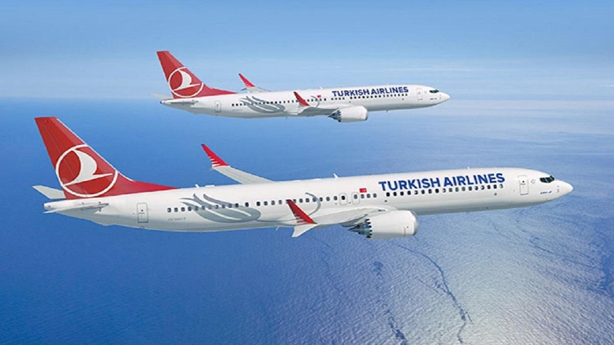 فرود هواپیمای ترکیش ایر