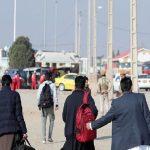 مهاجران افغان از ایران میروند