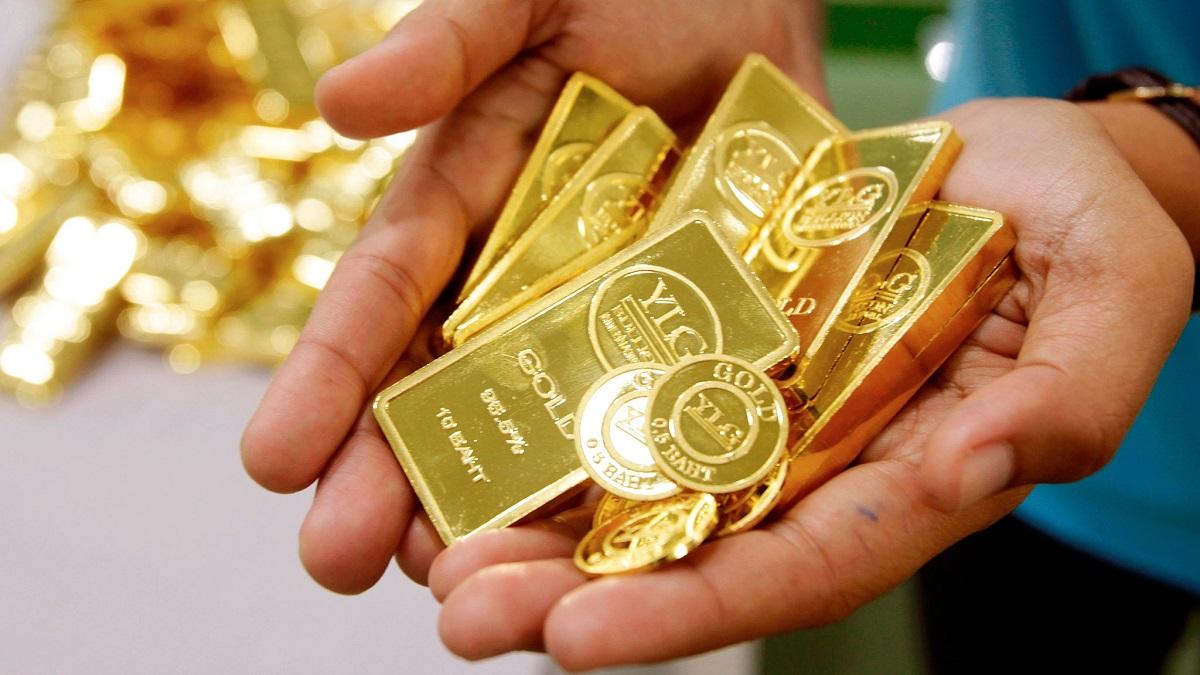 ریزش قیمت طلای جهانی در هفته جاری