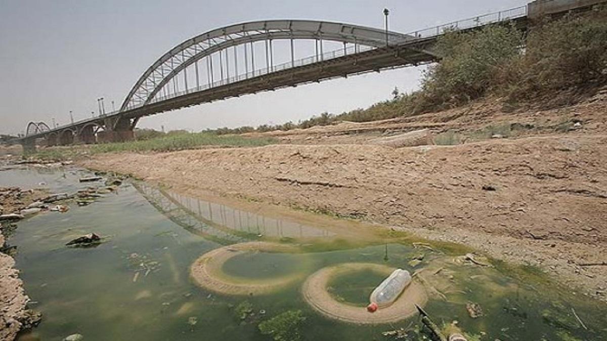 آلودگی آبهای رودخانه کارون