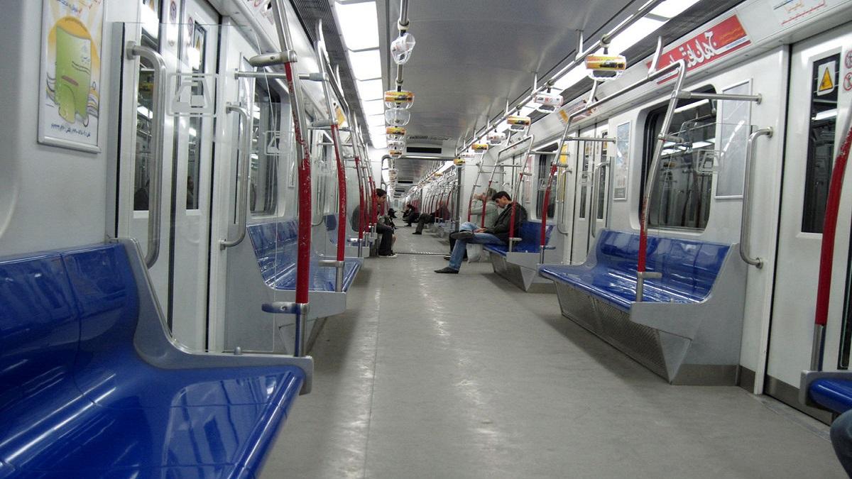 سیستم تهویه قطار مترو