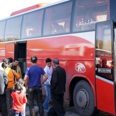 ممنوعیت سفرهای اتوبوسی