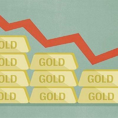 افت قیمت طلای جهانی