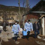 تیم های واکسیناسیون ترکیه روستاهای دور افتاده را هدف قرار دادند
