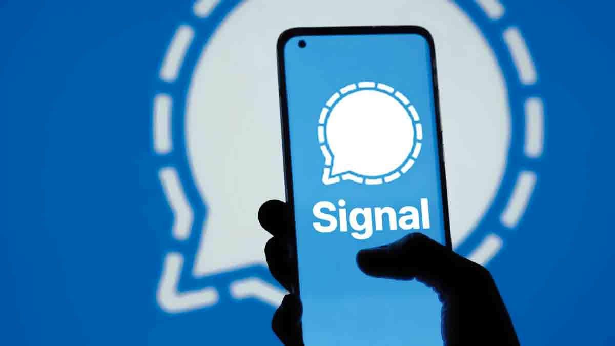 اپلیکیشن سیگنال