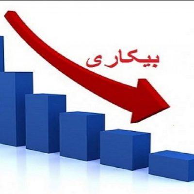 نرخ بیکاری کشور