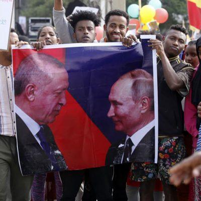 افزایش نفوذ نظامی روسیه در آفریقا