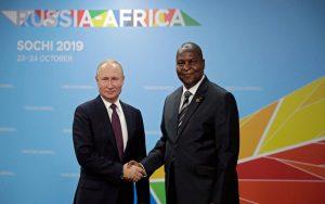 همکاری روسیه با کشورهای آفریقایی